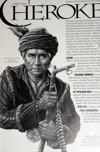sequoyah a great native american essay Essay the cherokee indians the american indian history in the eastern part essay/term paper: the cherokee indians essay despite the changes and great.
